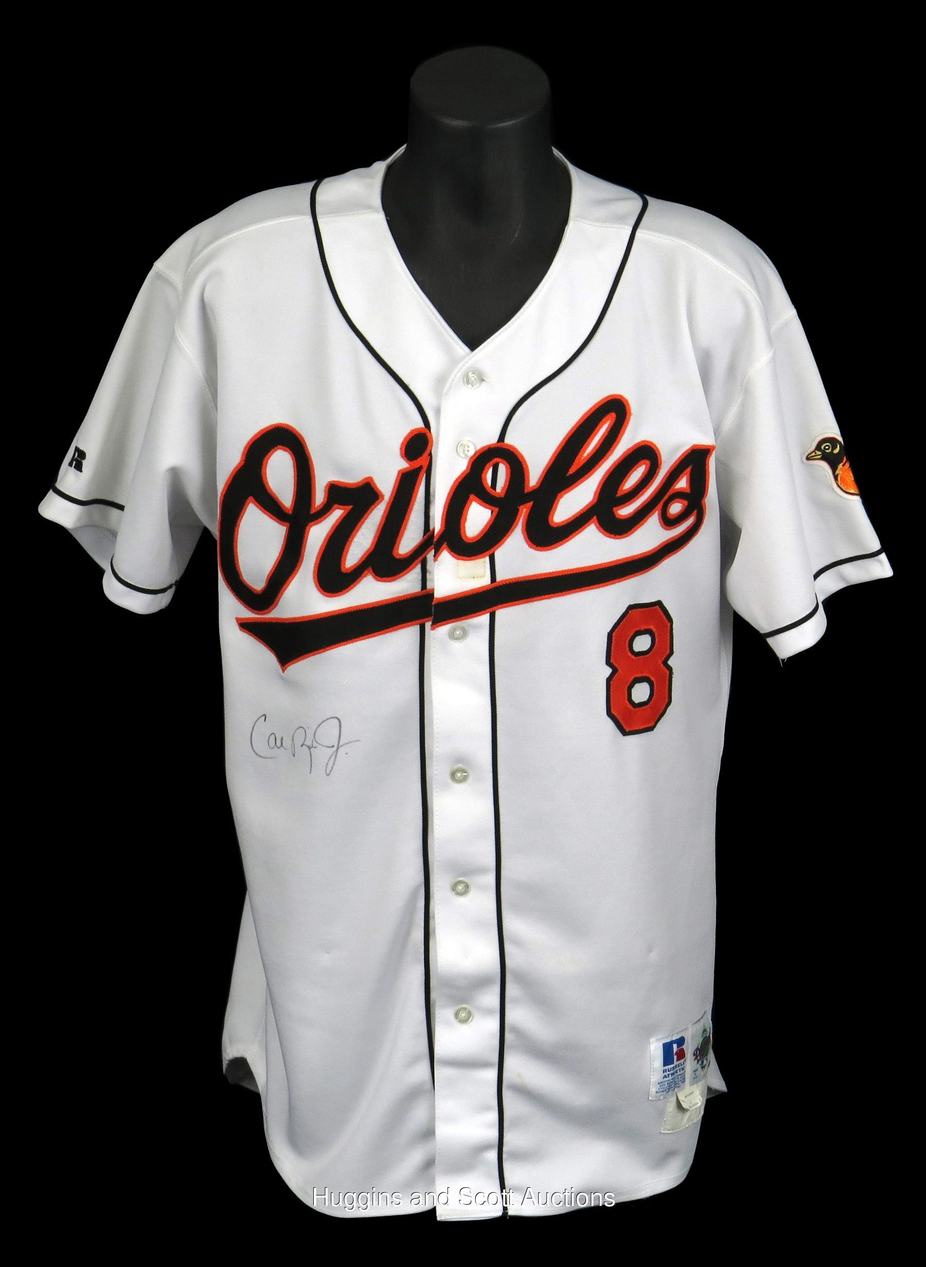 3effd00e6 1998 Cal Ripken Jr. Signed Game-Used Home Jersey - Full JSA ...